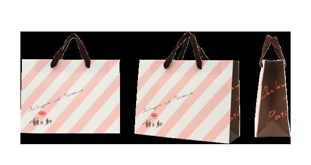 菓子店様の紙袋の事例