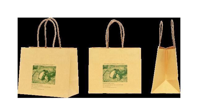 書店様の紙袋の事例を紹介します【B-61】