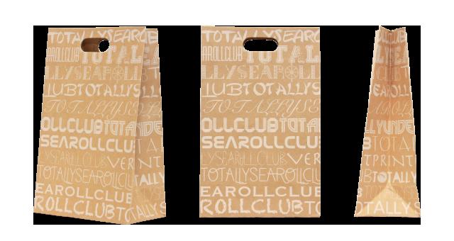 サンドイッチ専門店様の紙袋の事例を紹介します【B-63】