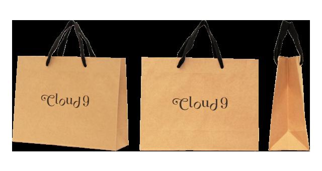 紅茶専門店様の紙袋の事例を紹介します【B-07】