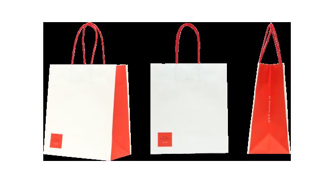 レストラン様の紙袋の事例を紹介します【B-59】
