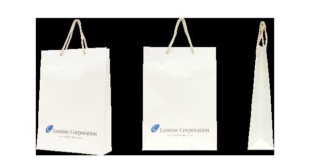 不動産会社様の紙袋の事例を紹介します【B-69】