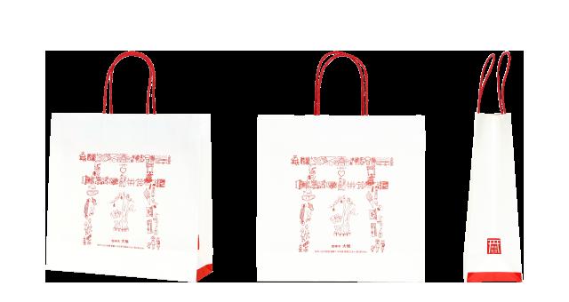 神社様の紙袋の事例を紹介します【B-21】