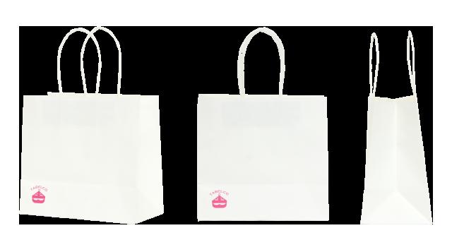 和菓子メーカー様の紙袋の事例を紹介します【B-23】