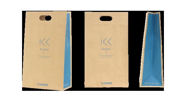 住宅建築会社様の紙袋の事例を紹介します【B-78】