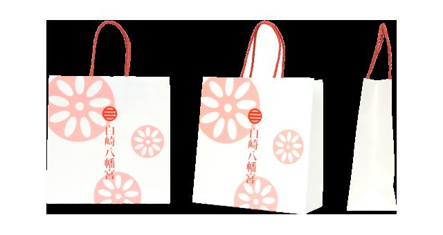 神社様の紙袋の事例を紹介します【B-88】