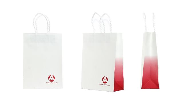 調味料メーカー様の紙袋の事例を紹介します【B-82】