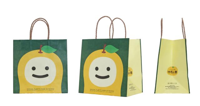 洋菓子店様の紙袋の事例を紹介します【B-84】