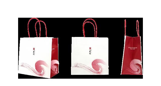 日本料理店様の紙袋の事例を紹介します【B-99】
