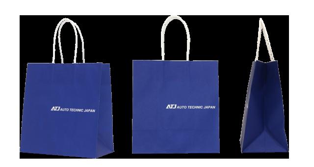 自動車テスト会社様の紙袋の事例を紹介します【B-122】