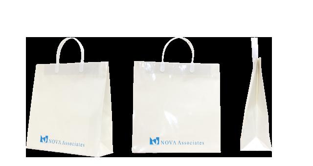 不動産会社様の紙袋の事例を紹介します【B-123】
