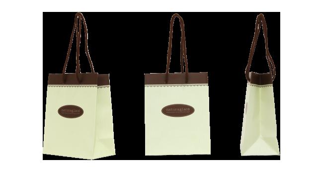 コスメメーカー様の紙袋の事例を紹介します【B-125】