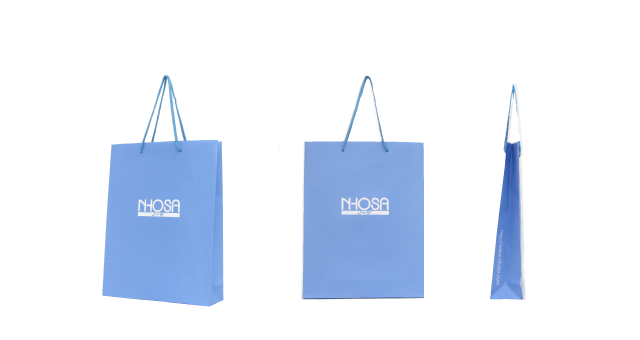 医療情報処理装置製造会社様の紙袋の事例を紹介します【B-161】