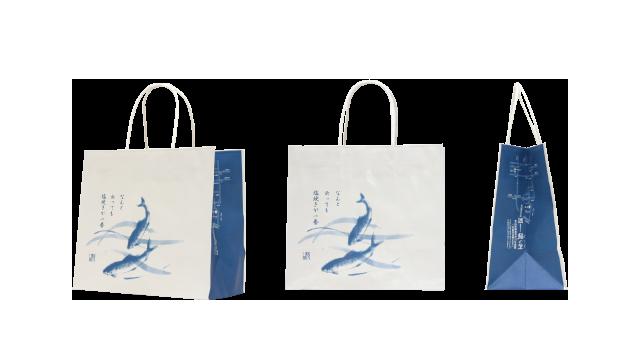 飲食店様の紙袋の事例を紹介します【B-115】