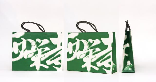 お寺様の紙袋の事例を紹介します【B-133】