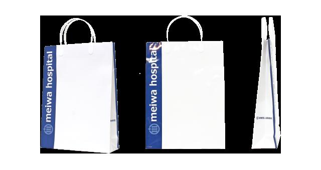 病院様の紙袋の事例を紹介します【B-170】
