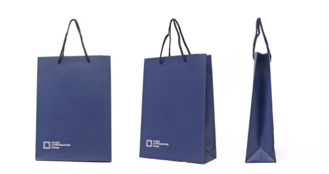 不動産業様の紙袋の事例を紹介します【B-142】