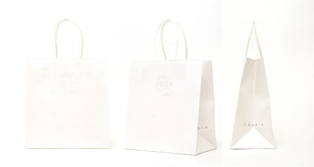 化粧品メーカー様の紙袋の事例をご紹介します【B-181】