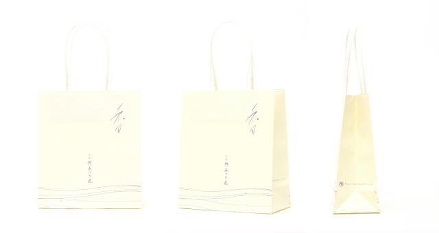 お香会社様の紙袋の事例をご紹介します【B-176】