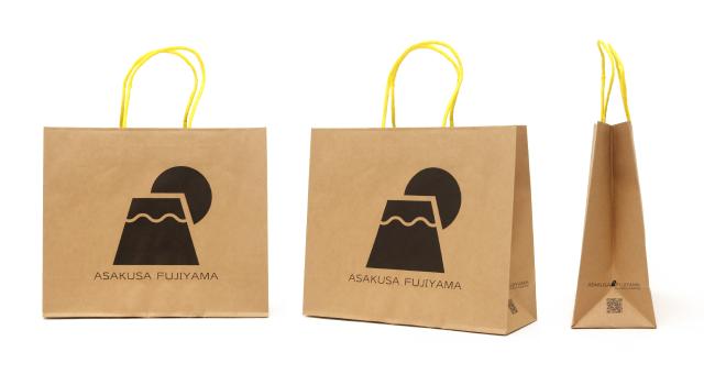 和雑貨店様の紙袋の事例をご紹介します【B-179】
