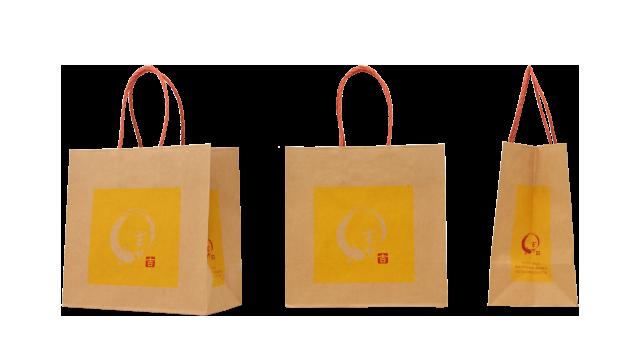 うなぎ店様の紙袋の事例を紹介します【B-148】
