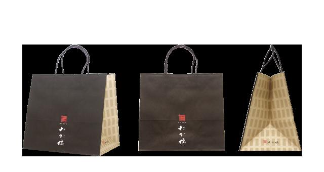 和牛専門店様の紙袋の事例を紹介します【B-149】