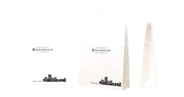 不動産会社様の紙袋の事例をご紹介します【B-186】