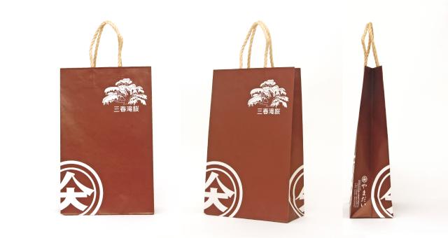 酒店様の紙袋の事例をご紹介します【B-188】