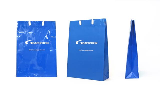精密機器製造会社様の紙袋の事例をご紹介します【B-189】