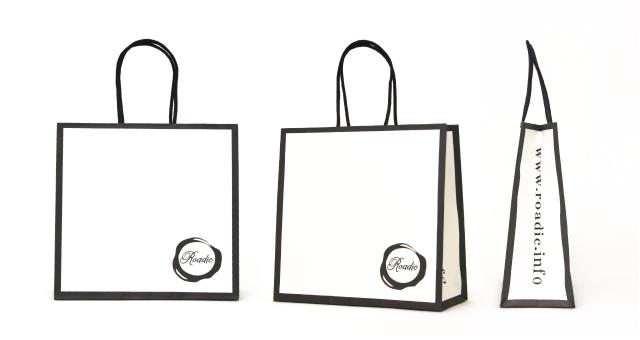 セレクトショップ様の紙袋の事例をご紹介します【B-193】
