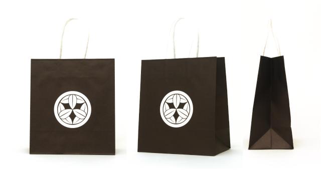 グラフィックデザイン会社様の紙袋の事例をご紹介します【B-194】