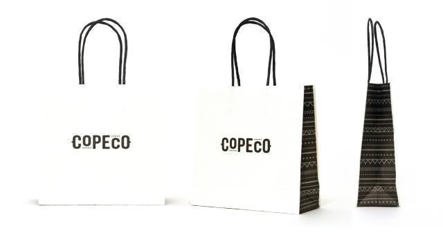 ドライフルーツ専門店様の紙袋の事例をご紹介します【B-195】