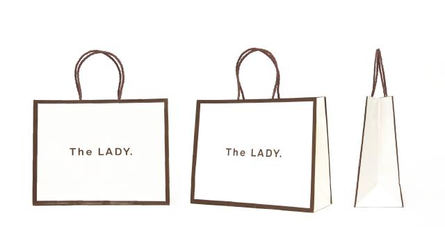 化粧品ブランド様の紙袋の事例を紹介します【B-200】