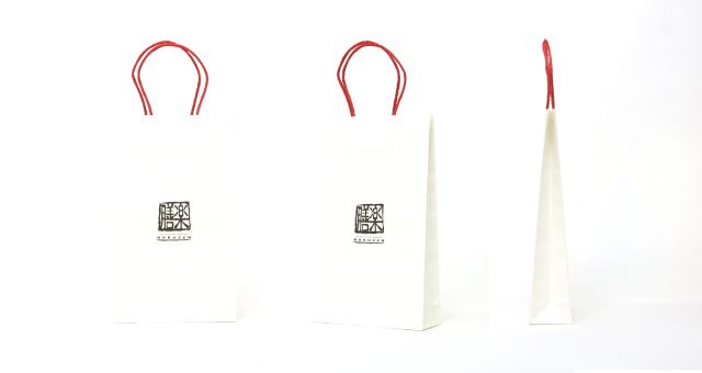 和食店様の紙袋の事例を紹介します【B-204】