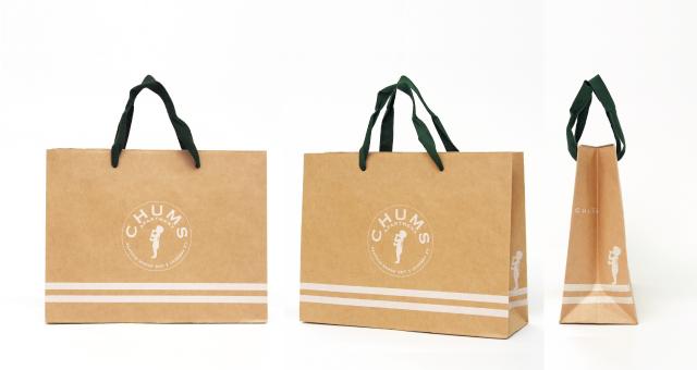 アパレルショップ様の紙袋の事例をご紹介します【B-212】