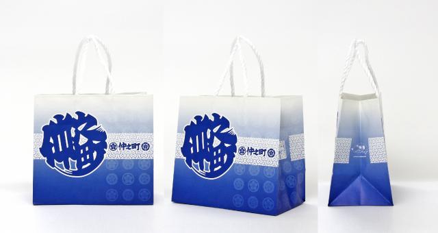 町会様の紙袋の事例をご紹介します【B-216】