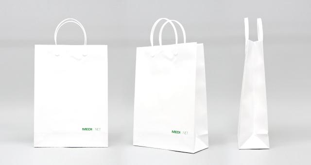 総合医療サービス様の紙袋の事例をご紹介します【B-218】