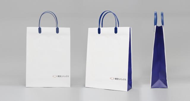 不動産コンサルタント会社様の紙袋の事例をご紹介します【B-224】