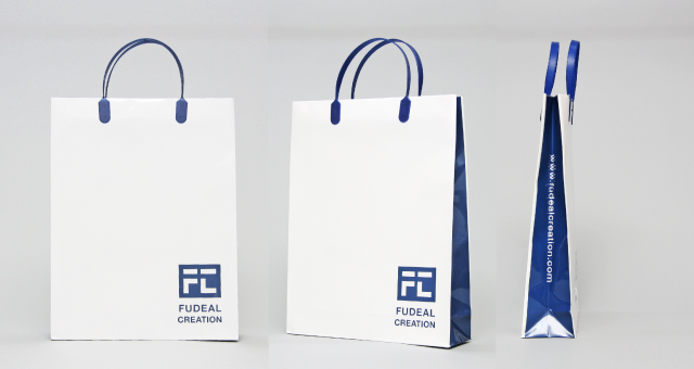 不動産会社様の紙袋の事例をご紹介します【B-237】