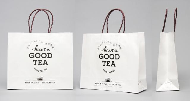 お茶メーカー様の紙袋の事例をご紹介します【B-242】