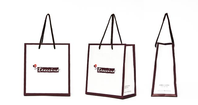ハーバルコーヒー販売会社様の紙袋の事例をご紹介します【B-242】