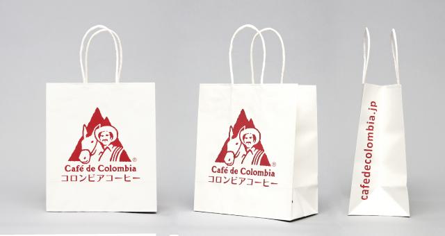 農業関連NGO様の紙袋の事例をご紹介します【B-246】