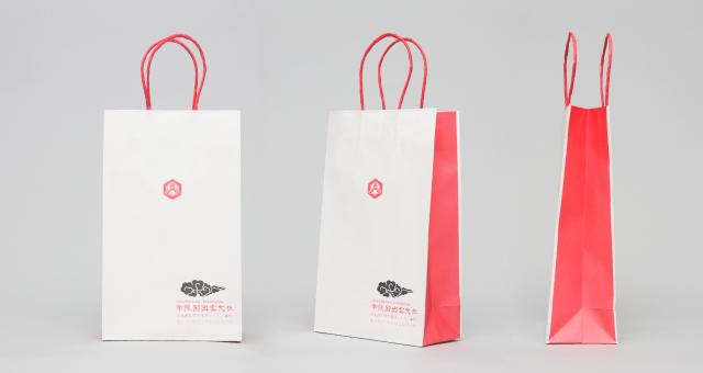 神社様の紙袋の事例をご紹介します【B-254】