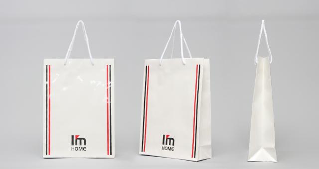 不動産会社様の紙袋の事例をご紹介します【B-255】