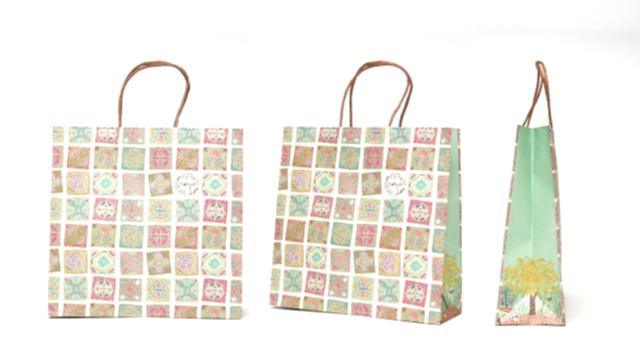 雑貨店様の紙袋の事例をご紹介します【B-258】