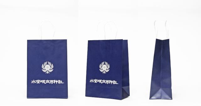 神社様の紙袋の事例をご紹介します【B-259】