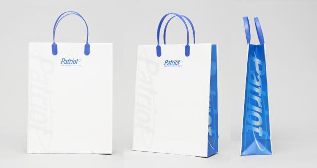 ITシステム開発業者様の紙袋の事例をご紹介します【B-264】