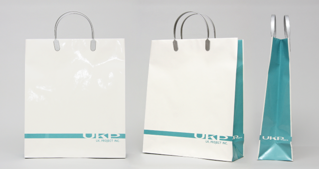 レコード会社様の紙袋の事例をご紹介します【B-272】