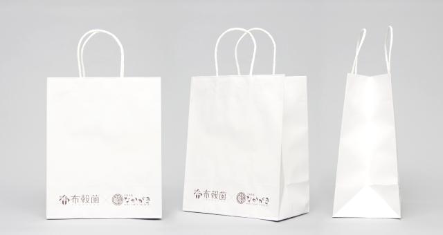 カフェ様の紙袋の事例をご紹介します【B-276】