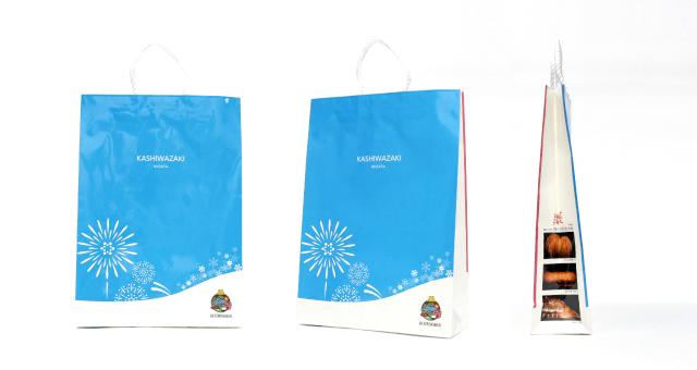 地方自治体様の紙袋の事例をご紹介します【B-280】